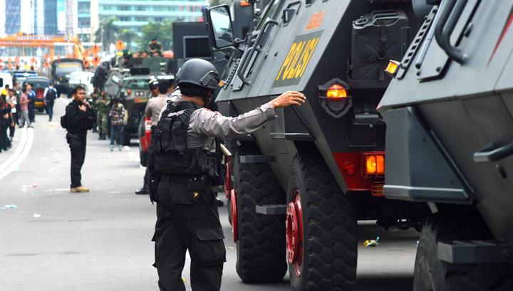 ВИндонезии арестованы 4 подозреваемых участников терактов