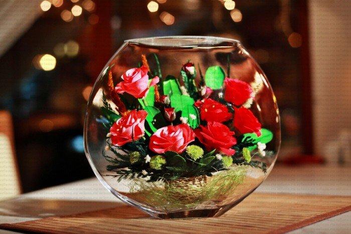 Бизнес на цветах в глицерине