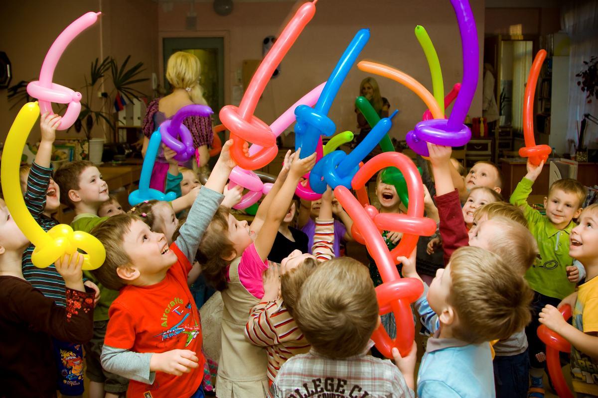 Детский праздник во французском стиле