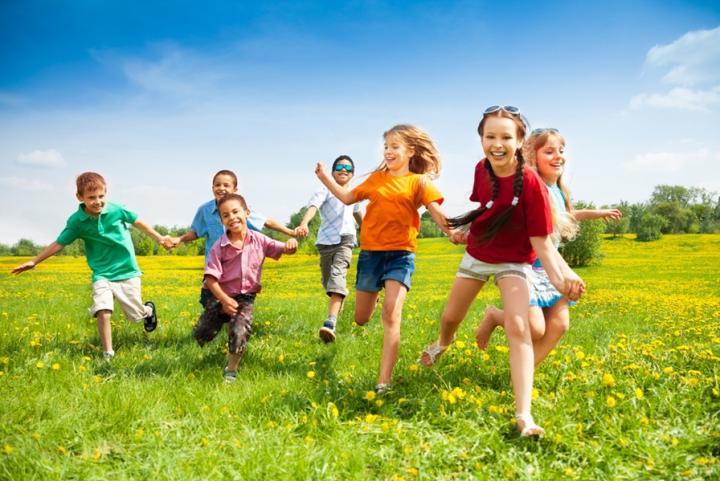 Пять детских игр на открытом воздухе