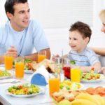 Насколько важна семейная трапеза для здоровья детей